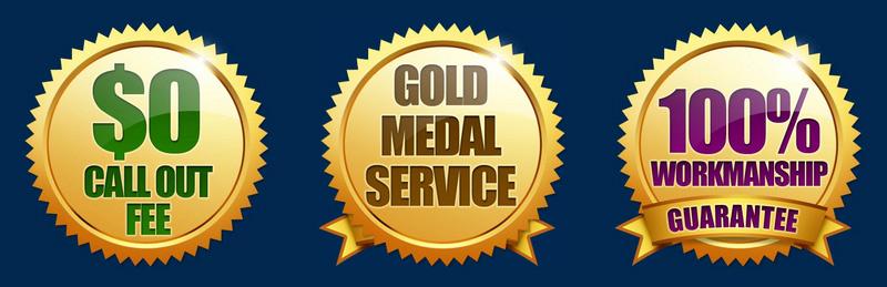 Bardon plumbing medals